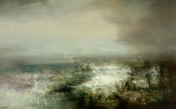 Trace of Time by Neil Nelson - Original Painting on Box Canvas sized 64x39 inches. Available from Whitewall Galleries